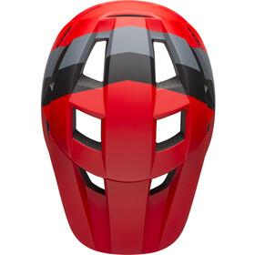 Bell Spark MIPS Helmet downdraft matte crimson/black